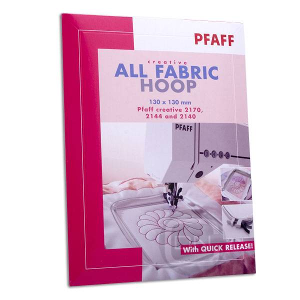 creative All fabric Hoop 130 x 130 mm (Pfaff creative 2140, 2144, 2170) - ARCHIV
