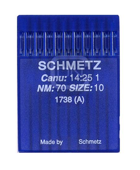 Schmetz Nadel 1738 Stärke 70 (10er Pack)
