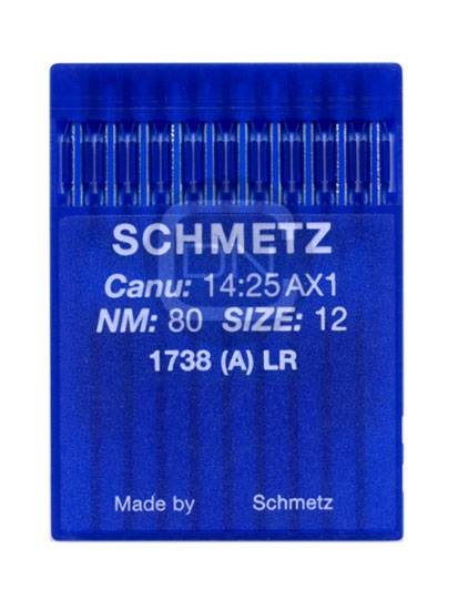 Schmetz Nadel 1738 LR Stärke 80 (10er Pack)