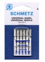 Universal Nadel Sortiment Stärke 70 80 90 100, 5er Pack Schmetz