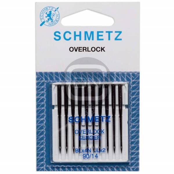 Overlock und Coverstich Nadel JLx2 Stärke 90 10er Pack Schmetz