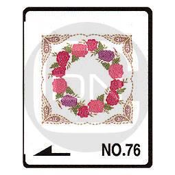 Brother Stickmotivkarte 76 - Große Quiltmotive - ARCHIV