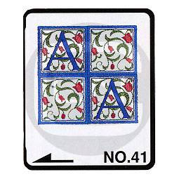 Brother Stickmotivkarte 41 - Renaissance Alphabete - ARCHIV