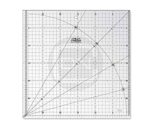 Quiltlineal 30 cm x 30 cm (OLFA)