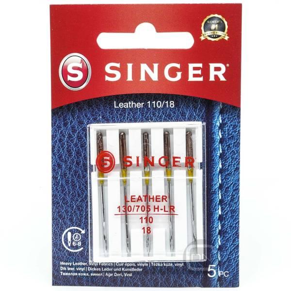 Leder Nadel Stärke 110 5er Pack SINGER
