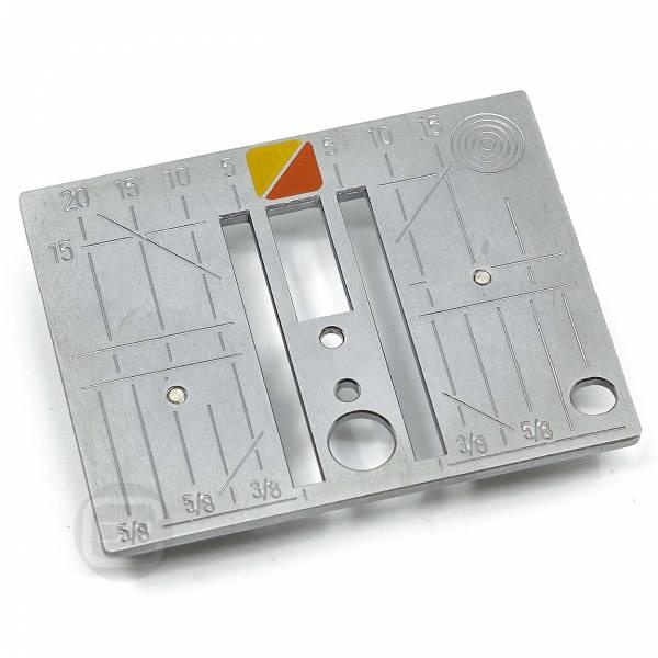 Stichplatte Geradstich CutWork Punch Bernina 530 550QE 555 570QE