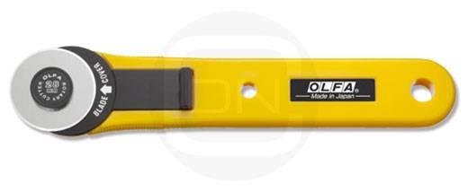 Rollschneider 28 mm (OLFA für Rechts- und Linkshänder)