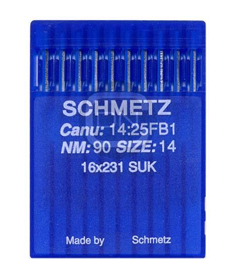 Nadel System 16x231 SUK, Stärke 90, 10er Pack - Schmetz